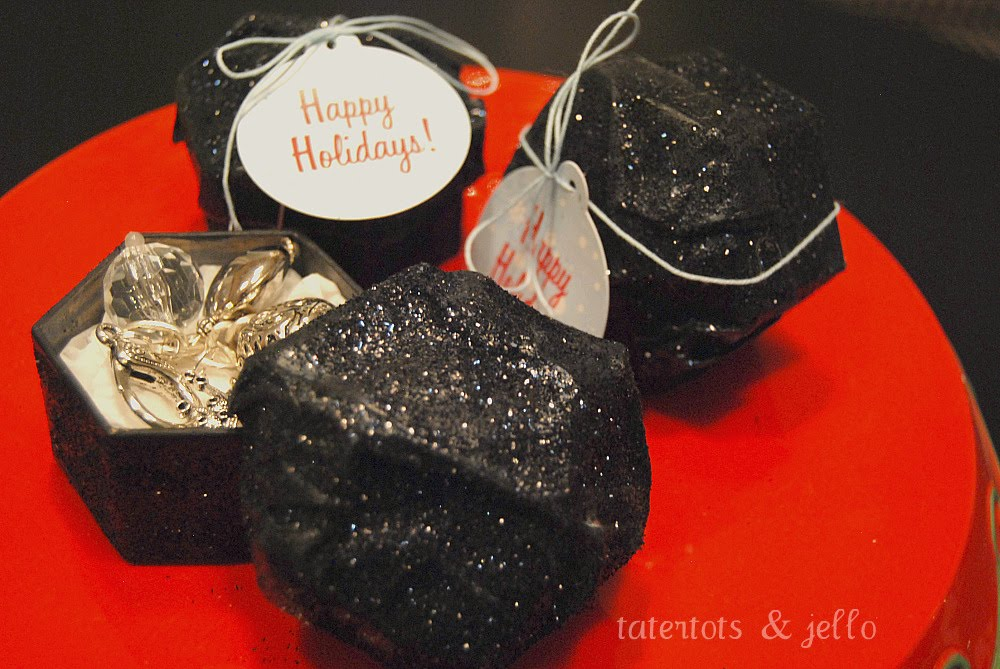 Have your kids been naughty or nice?? — make lump of coal gift boxes ...
