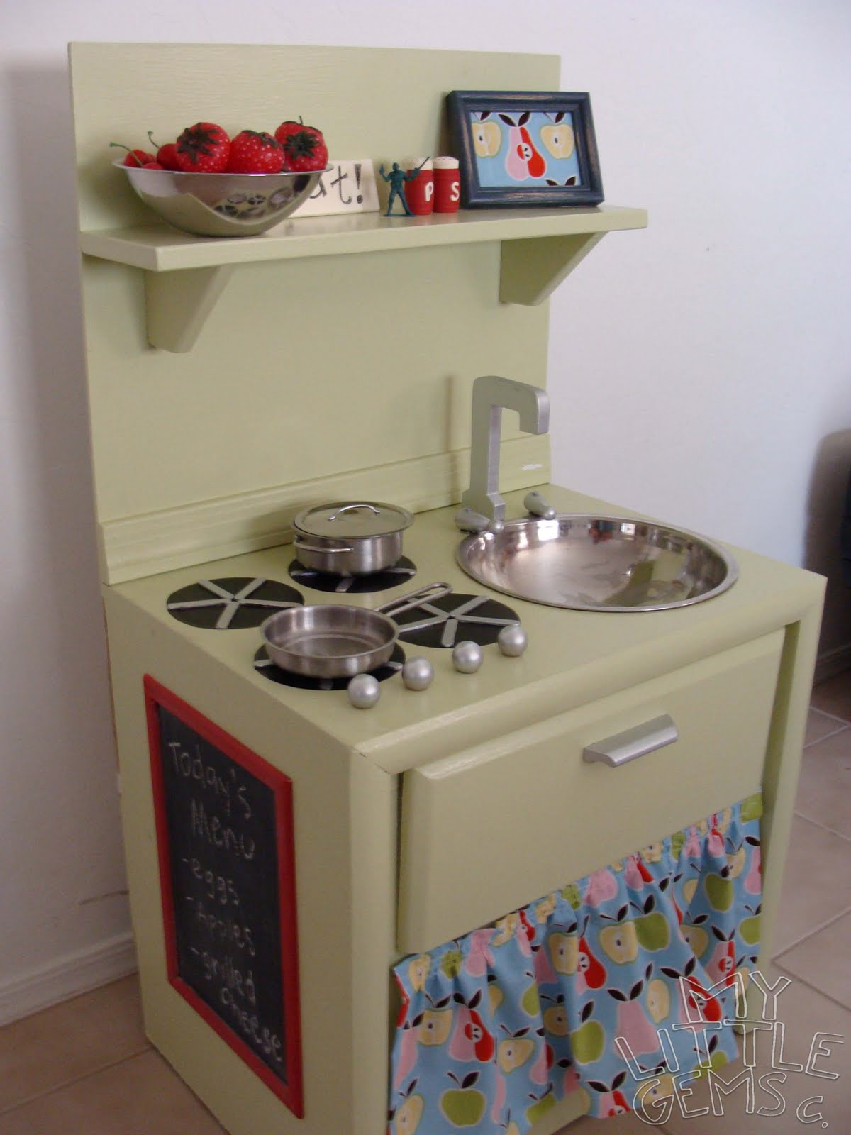 Play Kitchen From Old Furniture Weekend Wrap Up More Ideas My Blog