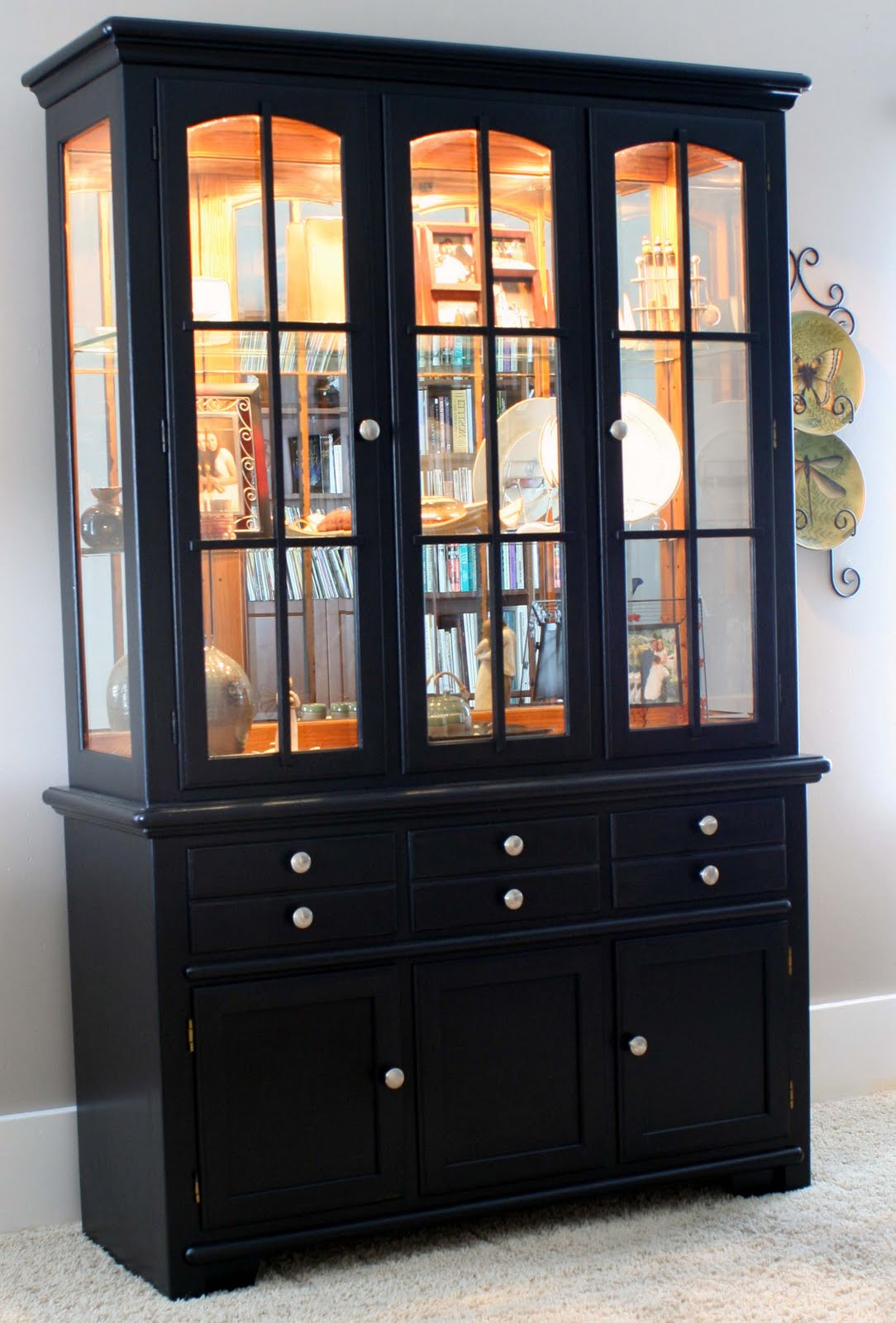 Dining Room Hutch Decorating Ideas | House Made of Paper