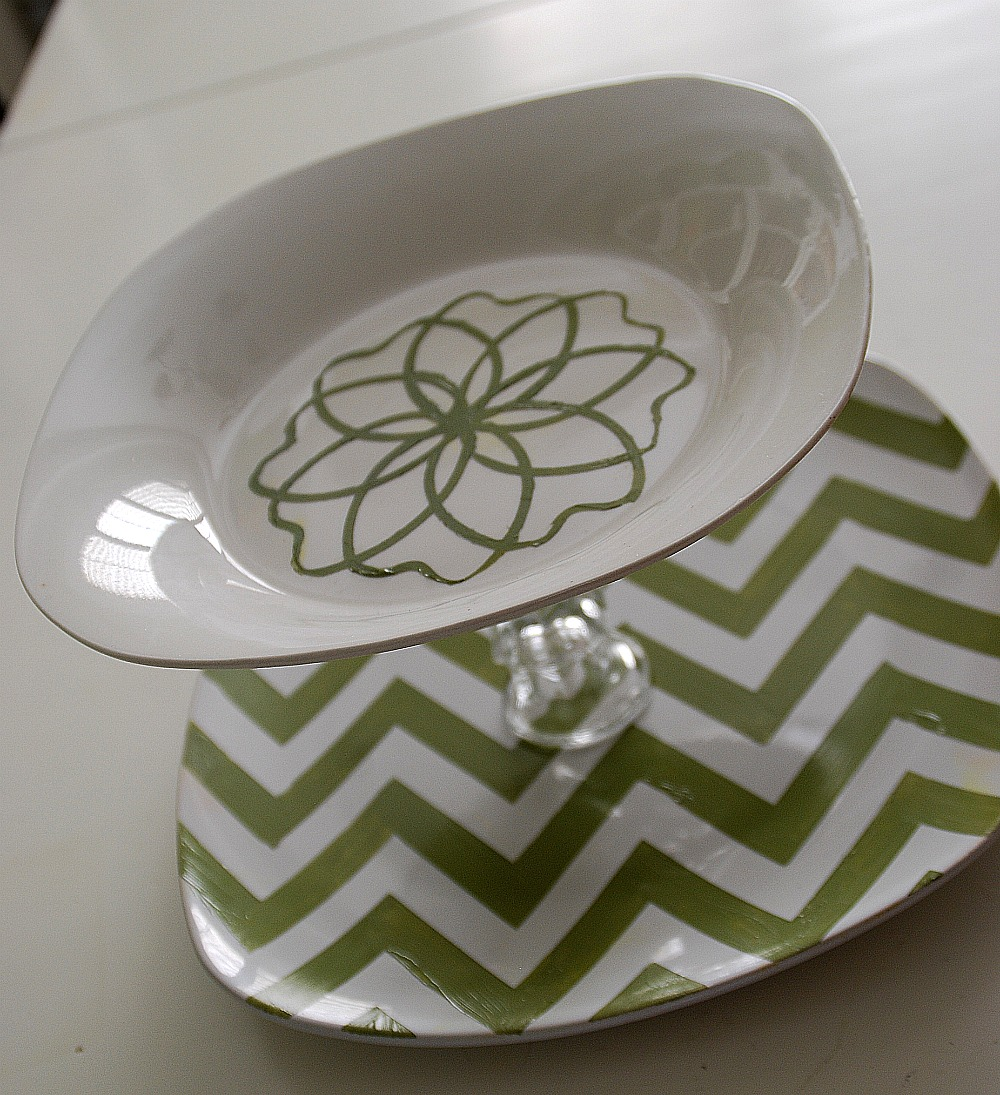 image about Chevron Stencil Printable called $5 Dilemma 3 alternative Greenback Keep Tiered Tray Recommendations