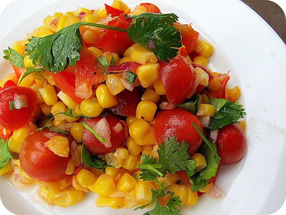 Summer Cooking — The Most Delicious Corn Salad Recipe ...