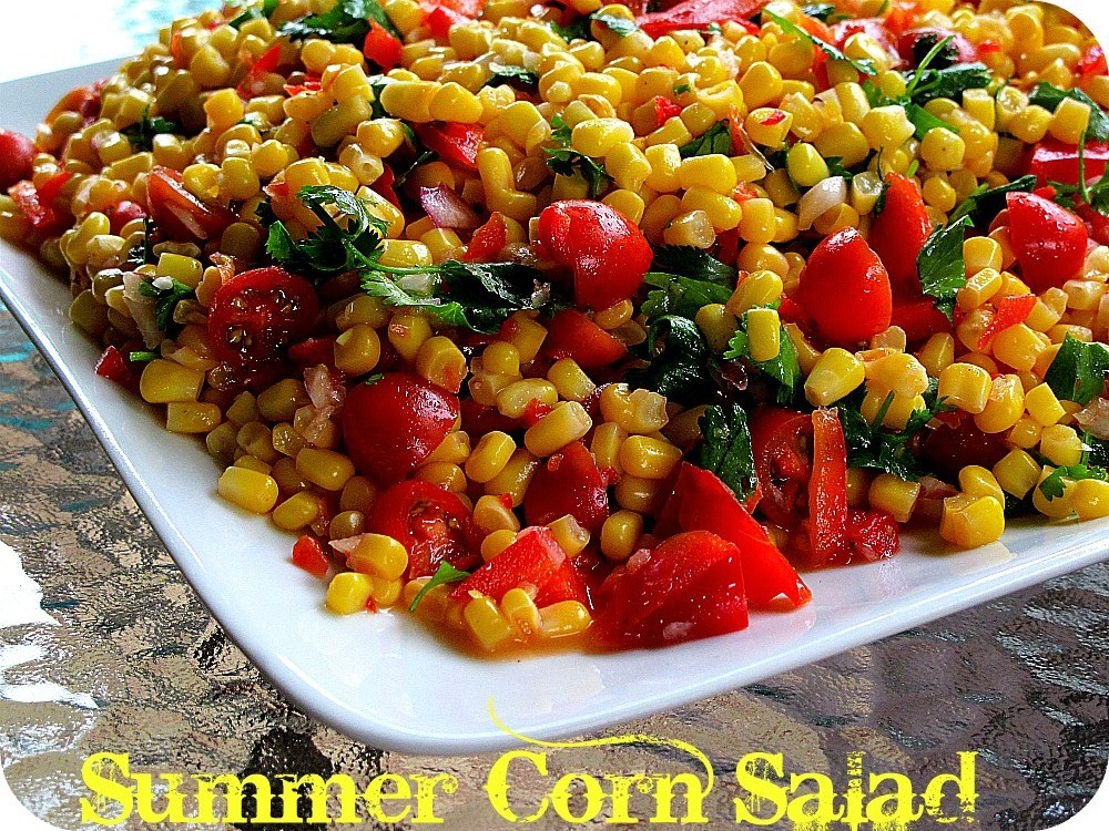 Summer cooking the most delicious corn salad recipe for The most delicious recipes