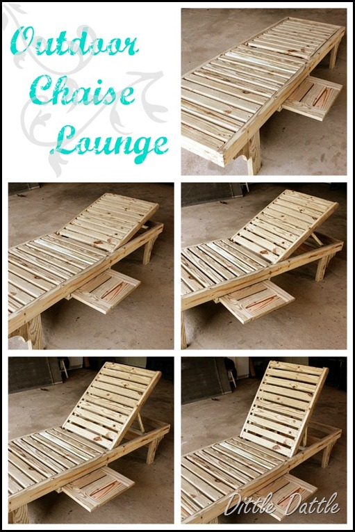 Great ideas diy inspiration 10 my blog for Build a chaise lounge